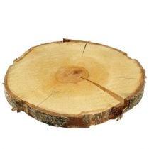 Dekorative treskiver og bark