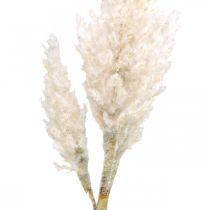 Pampas gress hvit krem kunstig tørt gress dekorasjon 82cm