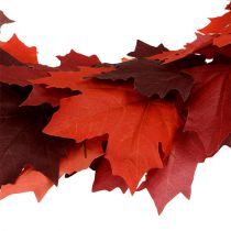 Maple krans rød-oransje 170cm