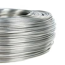 Aluminiumstråd 1,5 mm 1 kg sølv