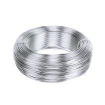 Aluminiumstråd 1 mm 500 g sølv