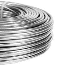 Aluminiumstråd 3 mm 1 kg sølv