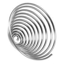 Trådskrue metallskrue sølv 2mm 120cm 2stk