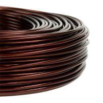 Aluminiumstråd Ø2mm 500g 60m brun
