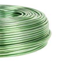 Aluminiumstråd Ø2mm 500g 60m mintgrønn