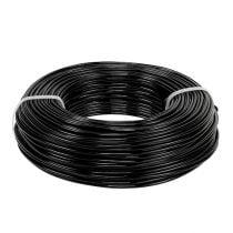 Aluminiumstråd Ø2mm 500g 60m svart