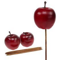 Kunstig eple rød Ø5,5cm 12stk