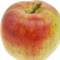 Kunstig eple, dekorativ frukt Ø8cm 4stk