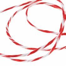 Ledning rød / hvit 220m
