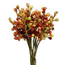 Bærgrein rød / gul 20cm 12stk