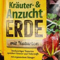 FRUX organisk urt og pottejord med naturlig leire organisk jord urtejord 18l
