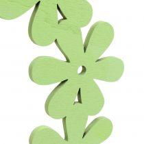 Blomsterkrans i grønt Ø35cm 1p