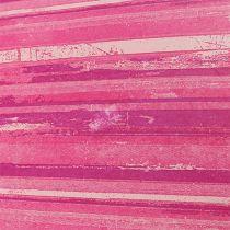Blomsterpapir 37,5 cm rosa striper 100 meter