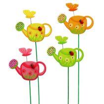 Blomsterplugg vannkanne fargerik hageplugg vårdekorasjon 16stk