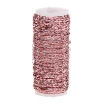 Bouillon-effekttråd Ø0,30mm 100g / 140m rosa