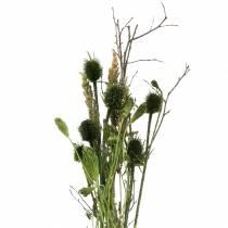 Wildflower bukett naturlig, grønn 25–60cm 70g