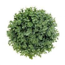 Boksvedkule kunstgrønn Ø18cm
