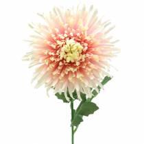 Chrysanthemum blomst gren rosa kunstig 64cm