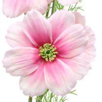 Cosmea kunstig rosa 77cm 3stk