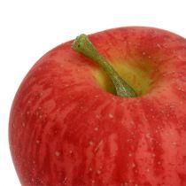 Dekorativ eple rød Realtouch 6cm