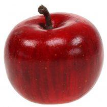 Dekorativ eple rød blank 4,5cm 12stk