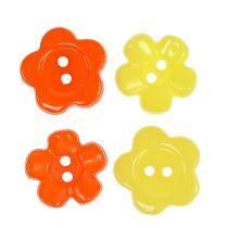 Dekorative knapper Ø1,5cm farget 200stk.