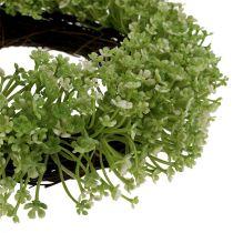 Dekorativ kransgrønn Ø25cm