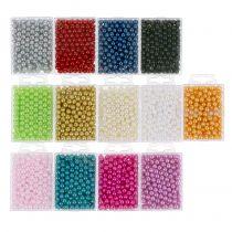 Dekorative perler Ø8mm 250stk