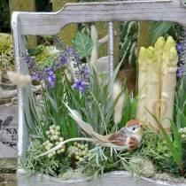 Dekorativ plante lavendel, middelhavs lavendel potte, kunstig blomst fiolett