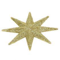 Dekorative stjerner gull Ø5cm 20stk