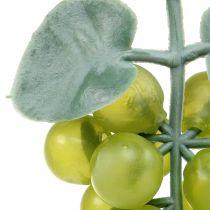 Dekorative druer smågrønne 10cm