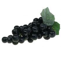 Dekorative druer svart 18cm