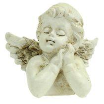 Dekorativ engelbønnekrem 9cm 8stk