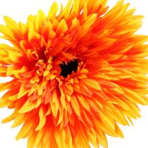 Deco gerbera oransje Ø15cm L88cm