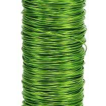 Dekorativ lakkwire Ø 0,30mm 30g 50m eplegrønn
