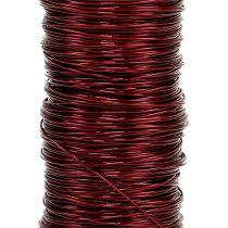 Dekorativ lakkwire Ø0.30mm 30g / 50m Bordeaux