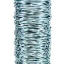 Dekorativ lakkwire Ø0,30mm 30g / 50m isblå