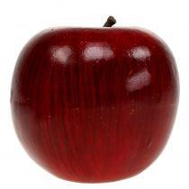 Dekorative epler røde, lakkerte Ø8cm 6stk