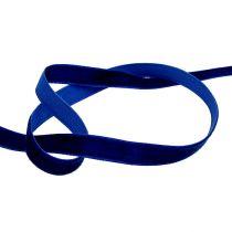 Dekorativt bånd Fløyelblå 10mm 20m
