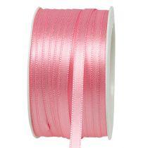 Gavebånd rosa 6mm x 50m