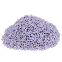 Dekorativ granulat lilla 2mm - 3mm 2kg