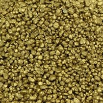 Dekorativt granulatgult gull 2 mm - 3 mm 2 kg