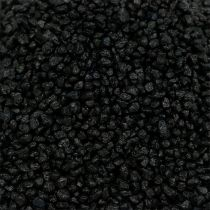 Dekorativt granulat svart 2mm - 3mm 2kg