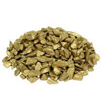 Dekorative steiner 9mm - 13mm 2kg gult gull