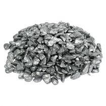 Dekorative steiner 9mm - 13mm 2kg sølv