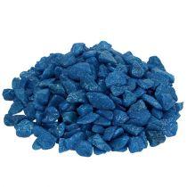 Dekorative steiner 9mm - 13mm mørkeblå 2kg