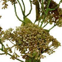 Dekorativ gren sedum plante grønn 58cm