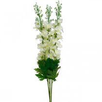 Delphinium hvite kunstige delphinium silke blomster kunstige blomster 3stk