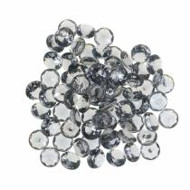 Dekorative steiner diamant akrylgrå Ø1,2cm 175g smykkedekorasjon