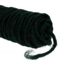 Wick tråd filt tråd mørk grønn 55m